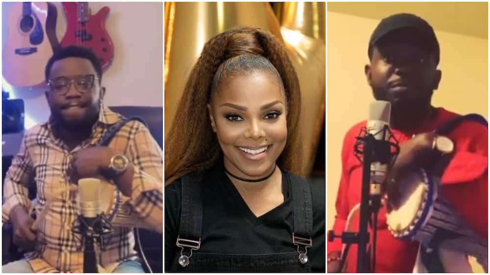 Nigerian man who once beat talking drums for Janet Jackson says he'd love to live in Nigeria