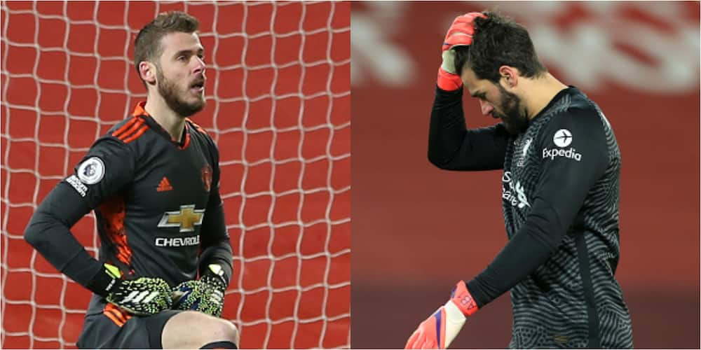 Fans slam Liverpool star, compare him with De Gea, Karius after Man City loss at Anfield