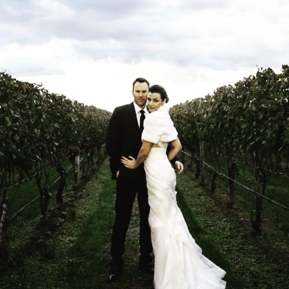 Andrew Frankel and Bridget Moynahan