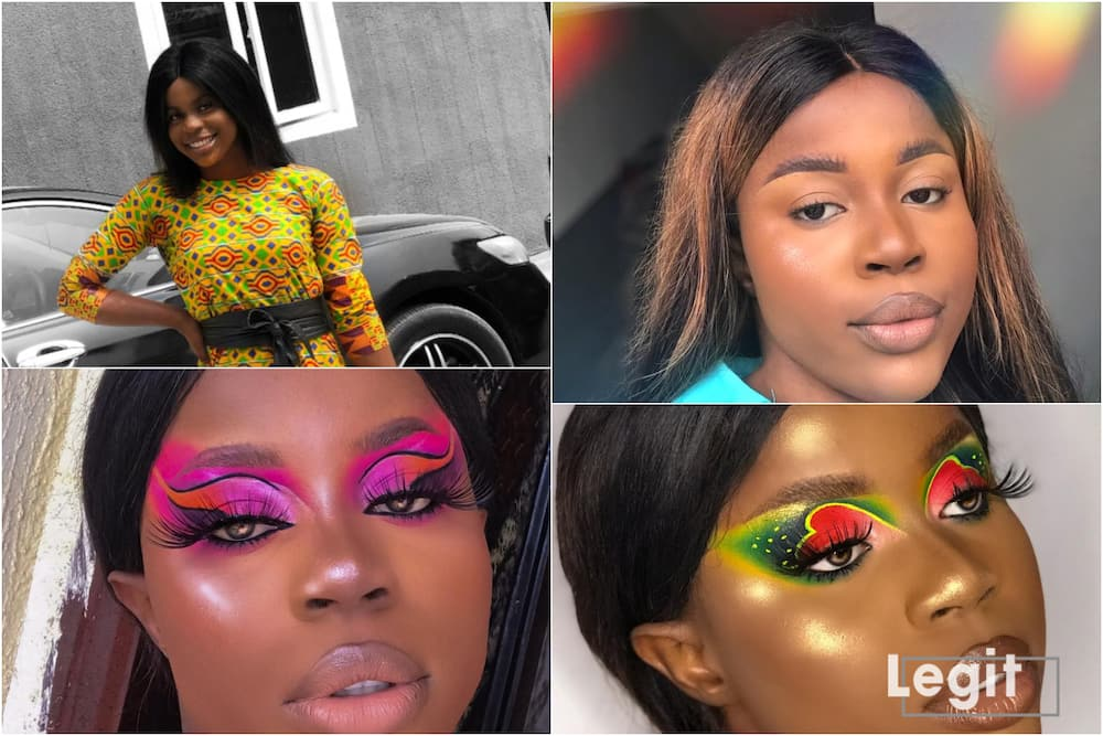 300-level university student opens up on how she was discovered by make-up artist