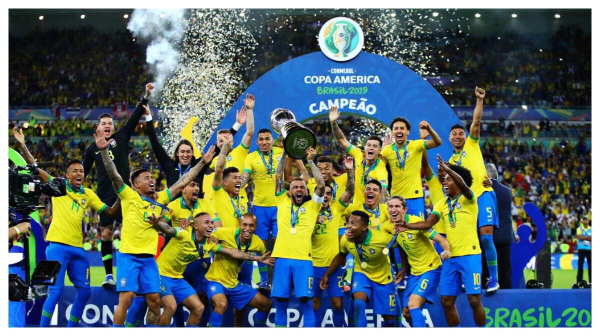 Everton, Jesus, Richarlison score as Brazil defeat Peru 3-1 to win Copa America