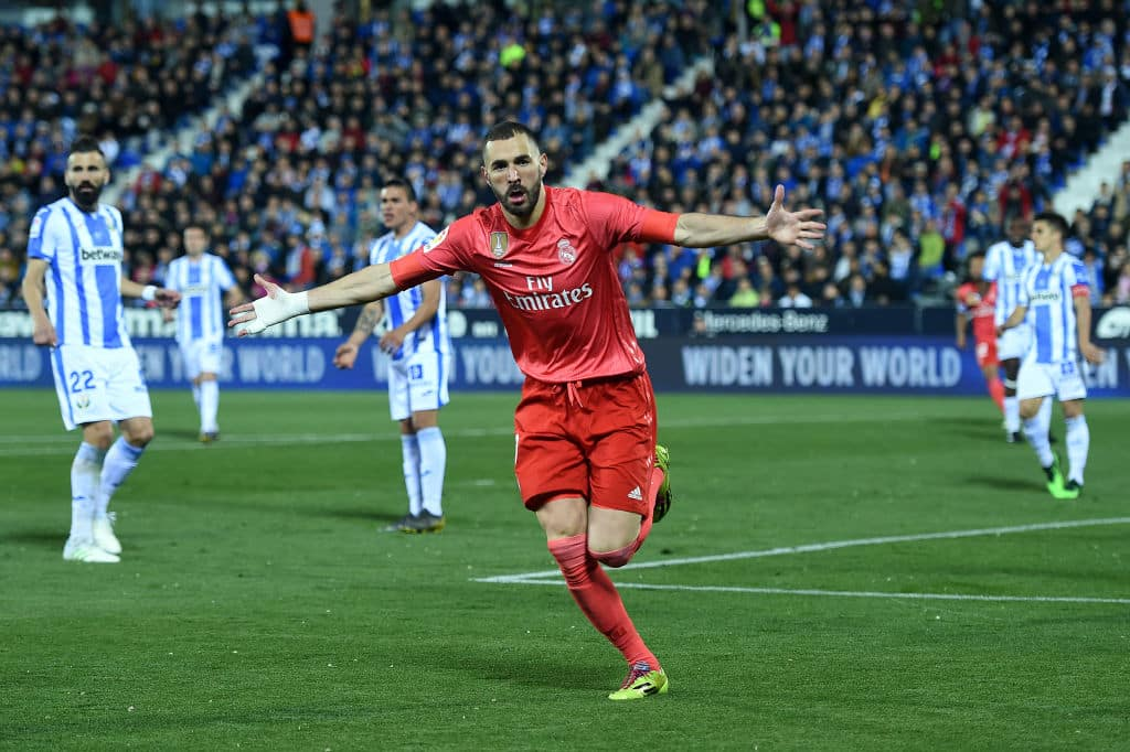 Benzema nets equaliser as Leganes battle Real Madrid to 1-1 draw
