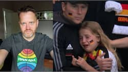 Little girl who cried after England knocked Germany out of Euro 2020 gets over N20m for her tears