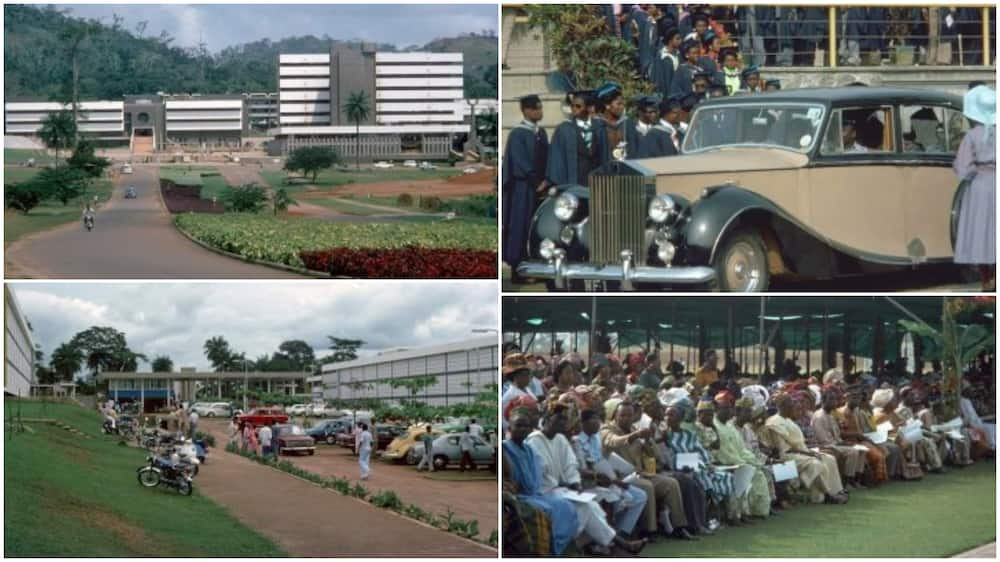 Throwback photos of student graduating in 1976 from popular Nigerian university OAU stuns social media users