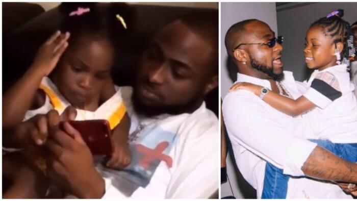 Imade Adeleke celebrates dad Davido on Father's Day with heartwarming video