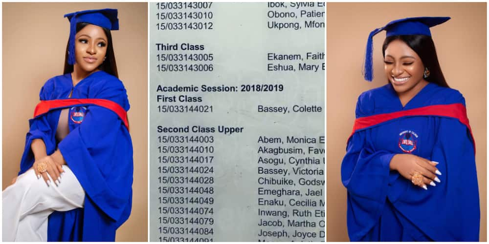 Mother of One Breaks 44-Year-Old Record in UNICAL, Emerges First Ever 1st Class in Department, Nigerians React
