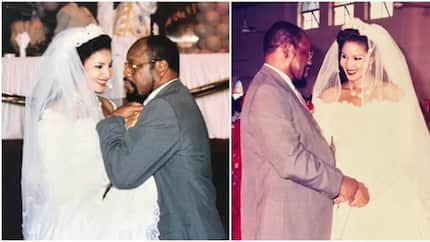 Wife of late Biafra warlord Bianca Ojukwu remembers husband on 24th wedding anniversary with throwback photos