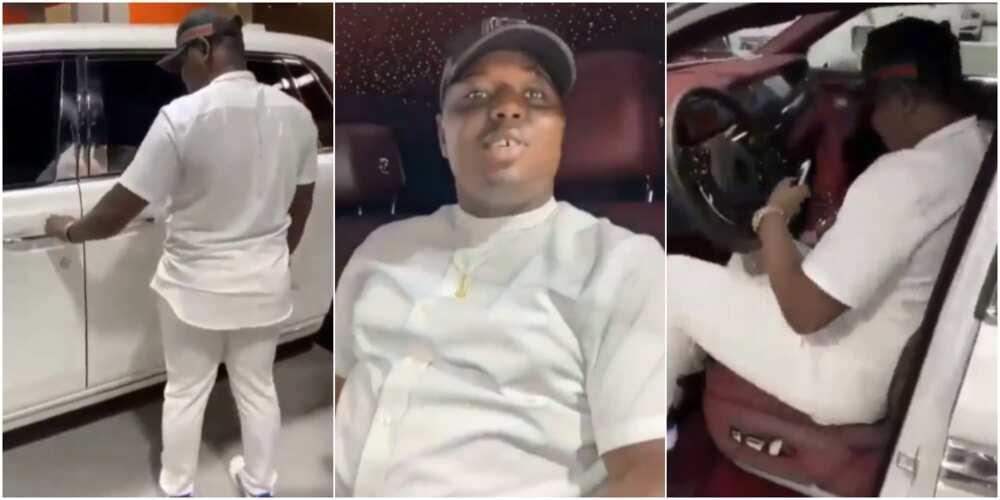 Video shows Nigerian man daring EFCC, FBI to arrest him while buying Rolls Royce Phantom 8 before dying in Dubai police custody