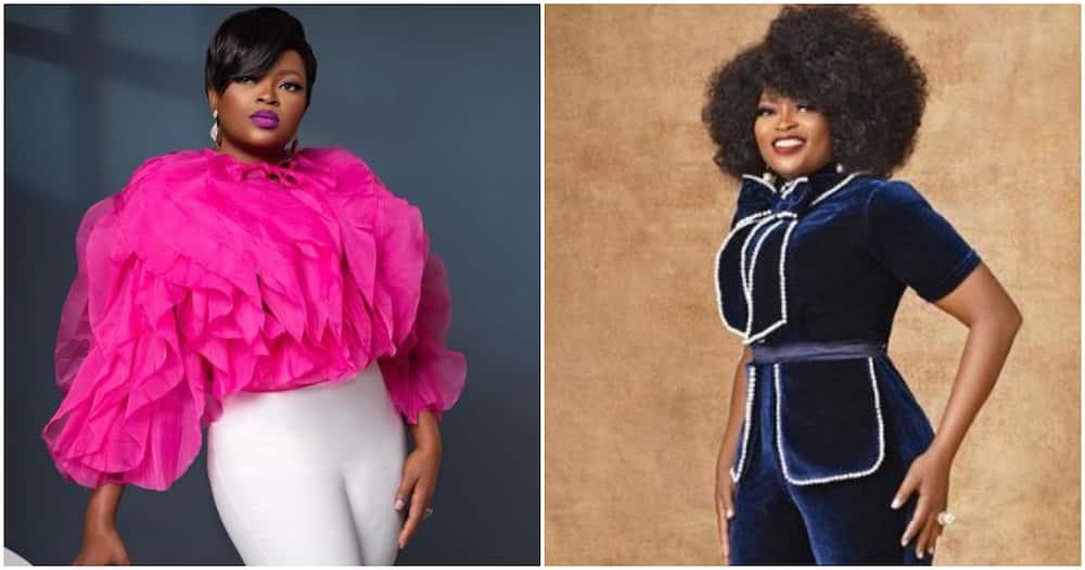 Veteran actress Funke Akindele tells fans there is no shortcut to success, shares new photos