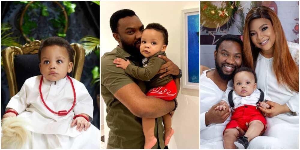 Ibrahim Sulaiman and his adorable family