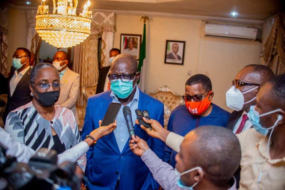 Governor Obaseki Makes U-Turn, Meets Edo PDP Working Committee