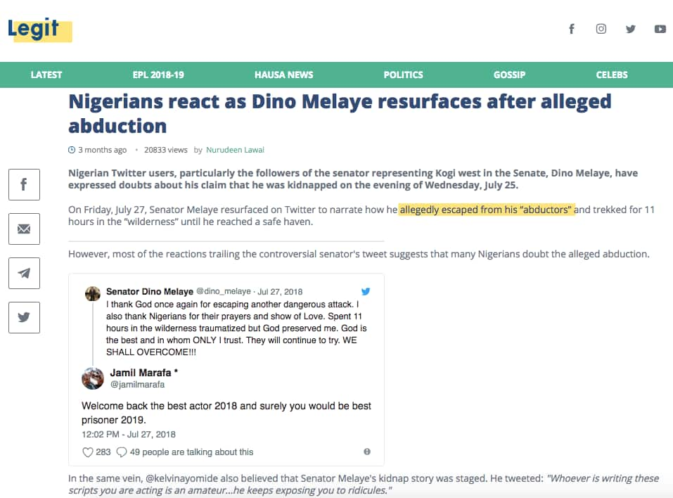 How Legit.ng unleashes real Nigerians' opinions; the best examples of reader-created content
