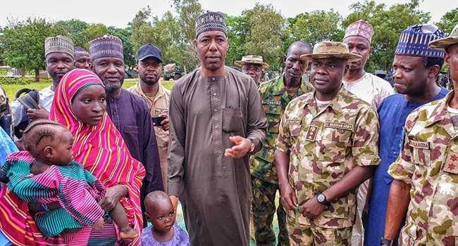 An sake ceto wata dalibar Chibok a jihar Borno, ta dawo da yara