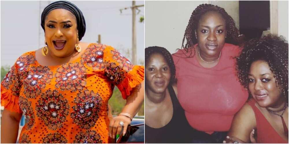 Foluke Daramola and late Moji Olaiya