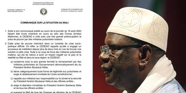 Juyin mulki: ECOWAS ta dakatar da Mali, za ta yanke mata hukunci mai tsauri