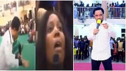 Odumeje's prophesies death over woman in new video, calls her a 'burial ground'