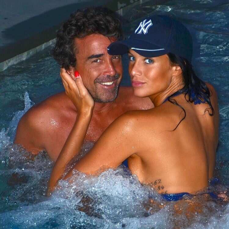 Jade Lagardère et son mari