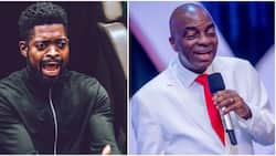 Basketmouth says the church now threatens people with financial curse after Bishop Oyedepo's statement on tithe