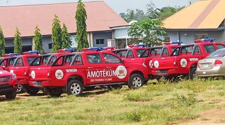 Tears as Amotekun commandant dies in road crash