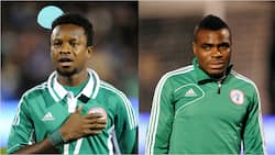 Super Eagles legend Onazi reveals how ex-teammate Emenike gave him money when he was building his first house