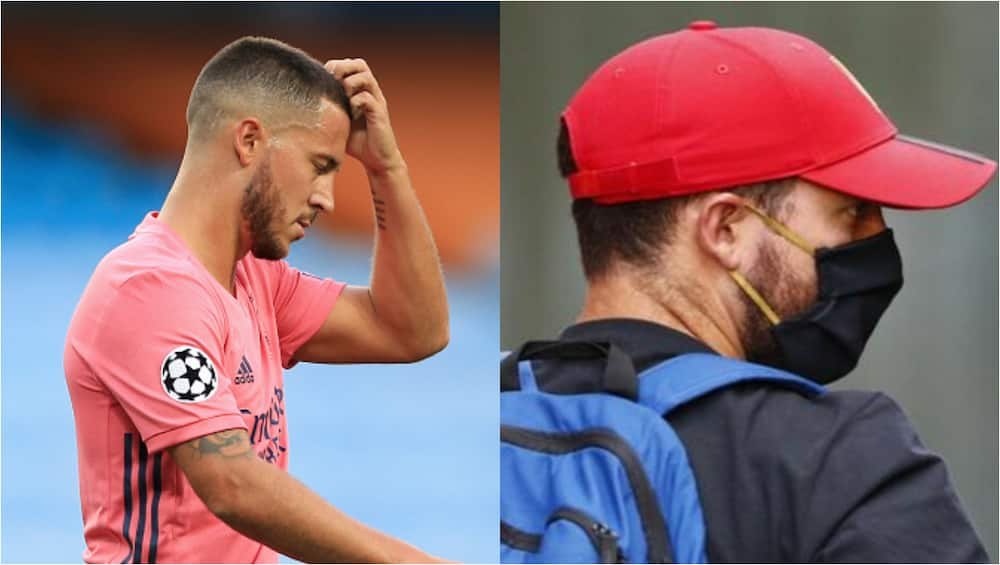 Eden Hazard returns to 1st Real Madrid training session overweight