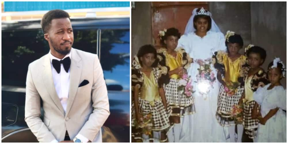 Ugandan man recounts when his mother used him as 'flower girl' for a wedding