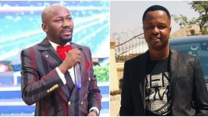 Pastor who accused Apostle Suleman of sleeping with his wife apologises to man of God