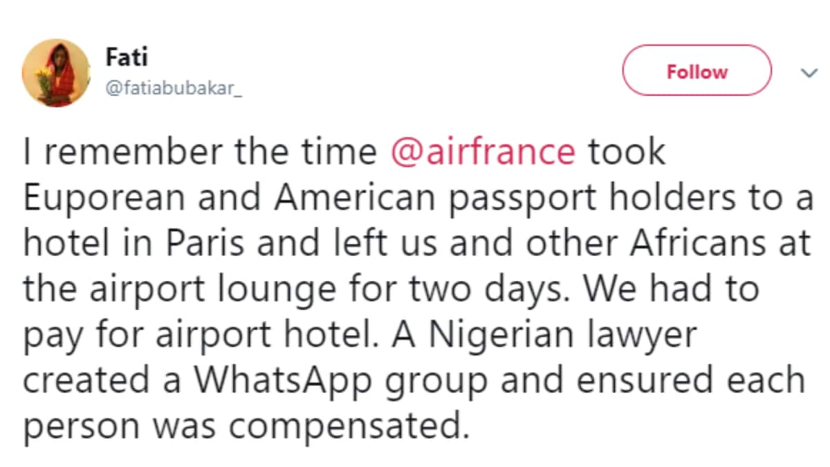 Air France accused of racism towards Africans, treats Americans specially