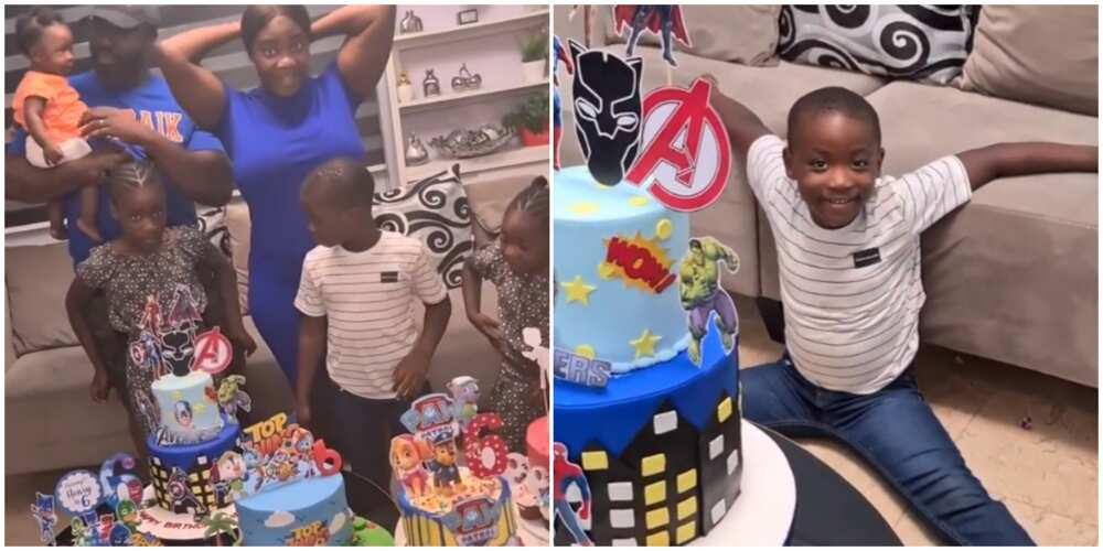 Actress Mercy Johnson-Okojie celebrates son's birthday, shares cute video