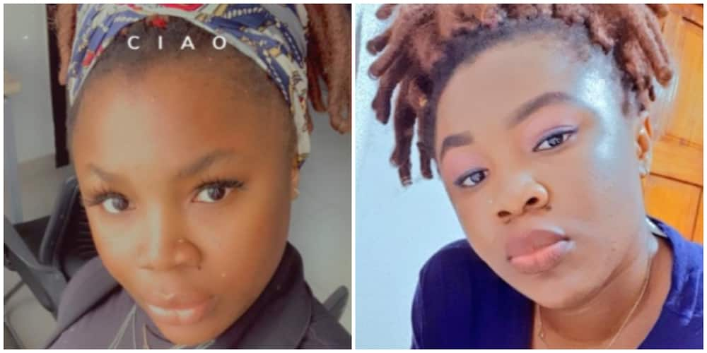 Lady recounts how she used fork to threaten a tout who harassed her