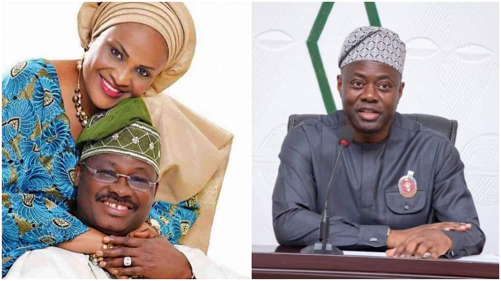 Florence Ajimobi accuses Makinde of playing politics with her husband's death
