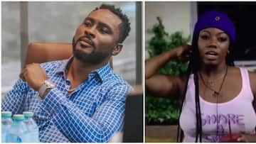 BBNaija: Pere and Angel out of the house but not the show, tasked to play 'intense game'