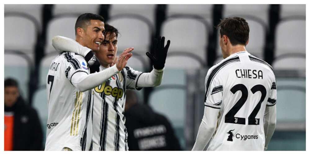 Juventus vs Udinese: Ronaldo scores brace as Bianconeri win by 4-1