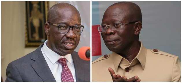 Edo election: Obaseki vows he won't have mercy on Oshiomhole