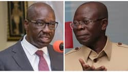 Oshiomhole reacts after thugs attack Obaseki, Akiolu in APC chairman's house, holds deputy governor responsible