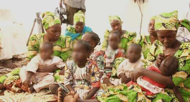 Mata 6 da kananan yara 9 sun tsero daga hannun Boko Haram
