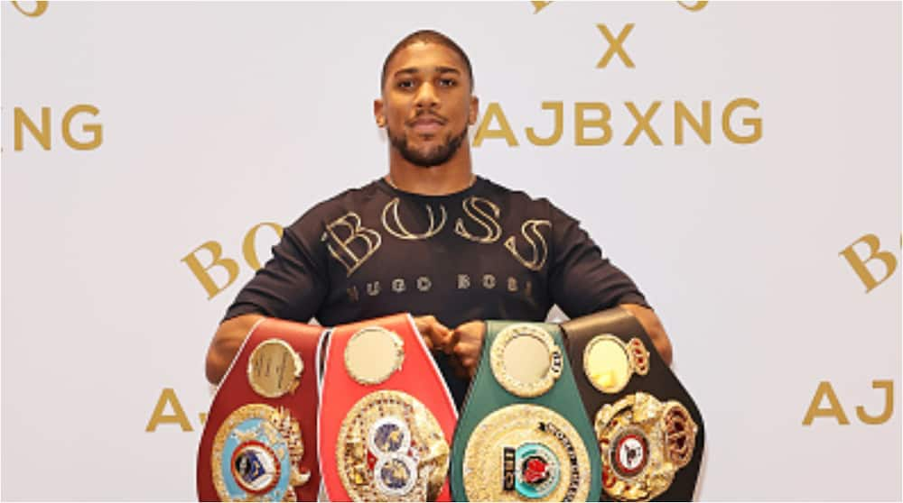 Anthony Joshua: World boxing champion prepared to give up world title to fight Tyson Fury
