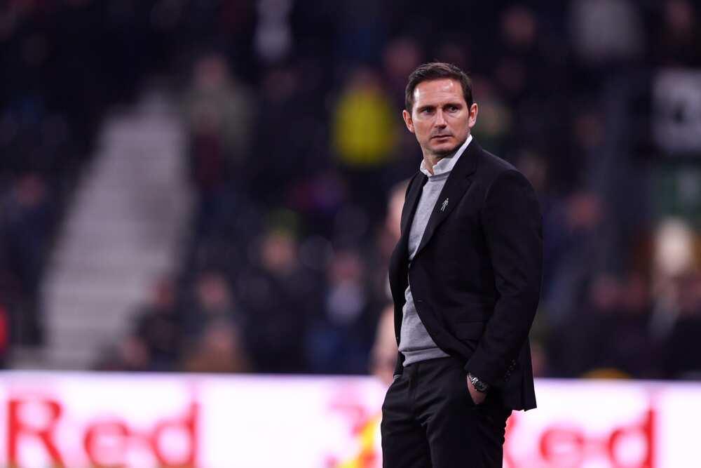 Frank Lampard in action for Premier League side Chelsea