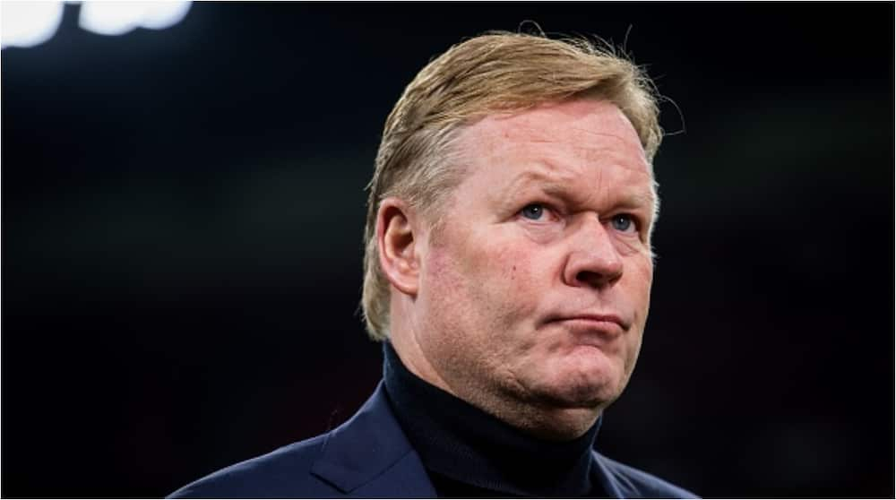 Ronald Koeman spotted at airport to potentially take over from Setien