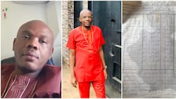 Nigerian man to 'pressure' his kids after finding his 1989 primary school result, he came 1st in a class of 42