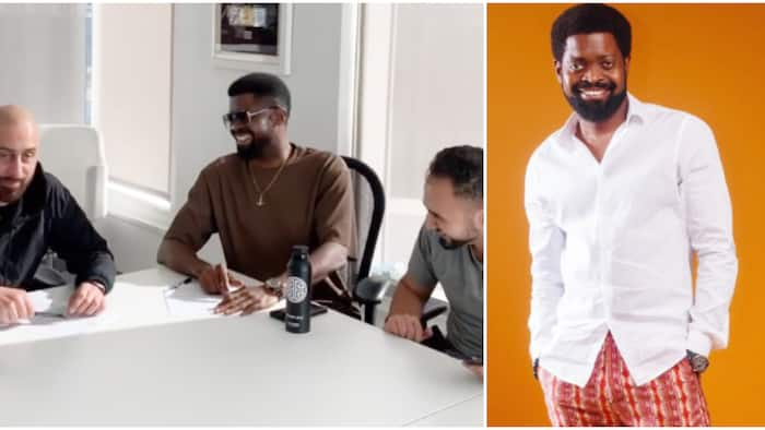 Maximum respect: Fans congratulate Basketmouth as he signs deal with US record label Empire