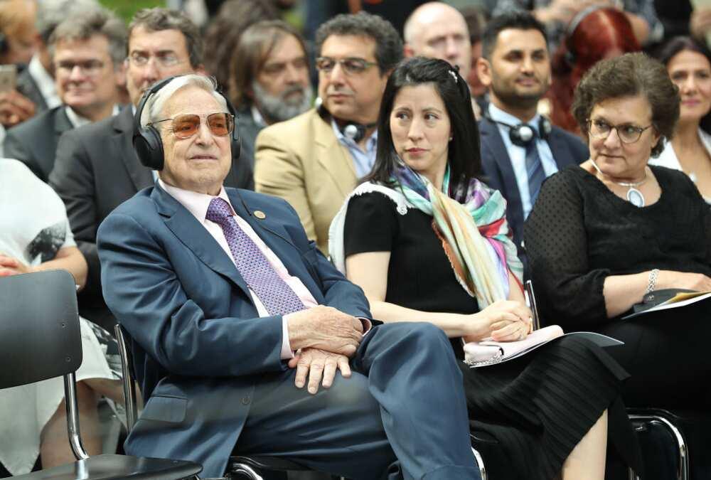 Tamiko Bolton and George Soros