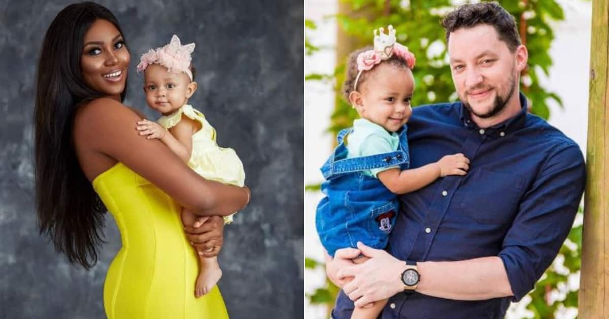 Yvonne Nelson's baby daddy gives epic reply after she snubbed him on Father's Day
