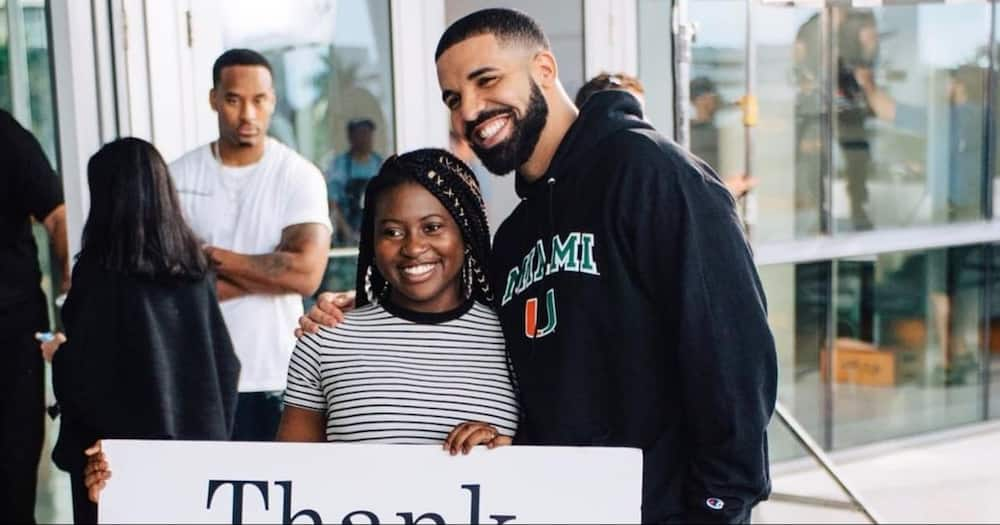 Woman Gifted N20.6m Scholarship by Drake on God's Plan Video Graduates with Master's Degree