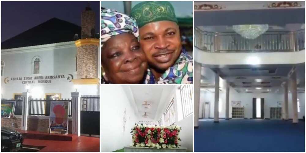 Inside Gigantic Mosque MC Oluomo Built in Honour of Late Mother Alhaja Sinatu Abebi Akinsanya