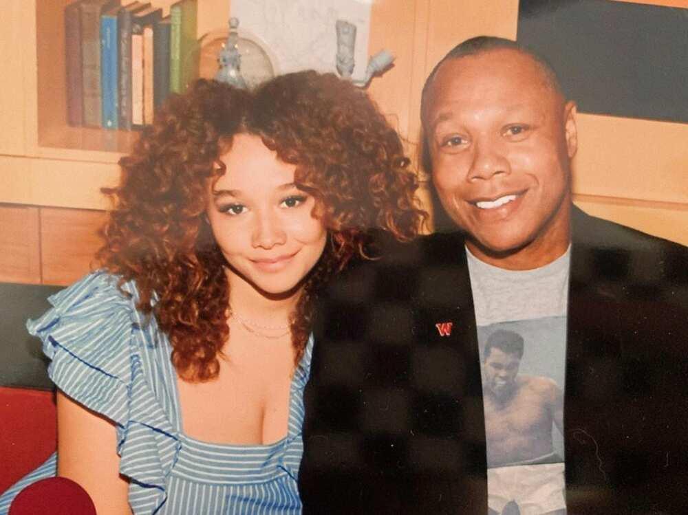 Who is Talia Jackson's father