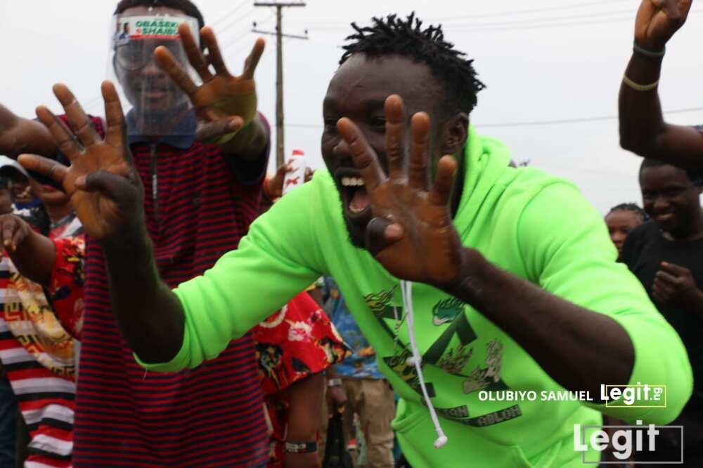 Edo election: Obaseki's supporters celebrate election win