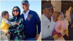 Ned Nwoko reveals why he left his other wives and kids out as he tours the world with Regina and Munir
