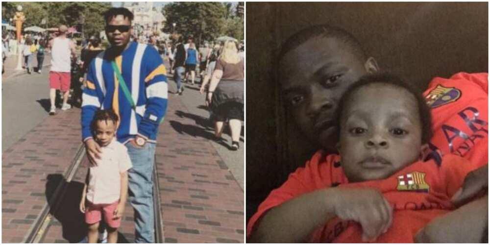Rapper Olamide celebrates first son as he clocks 6 (photos, videos)