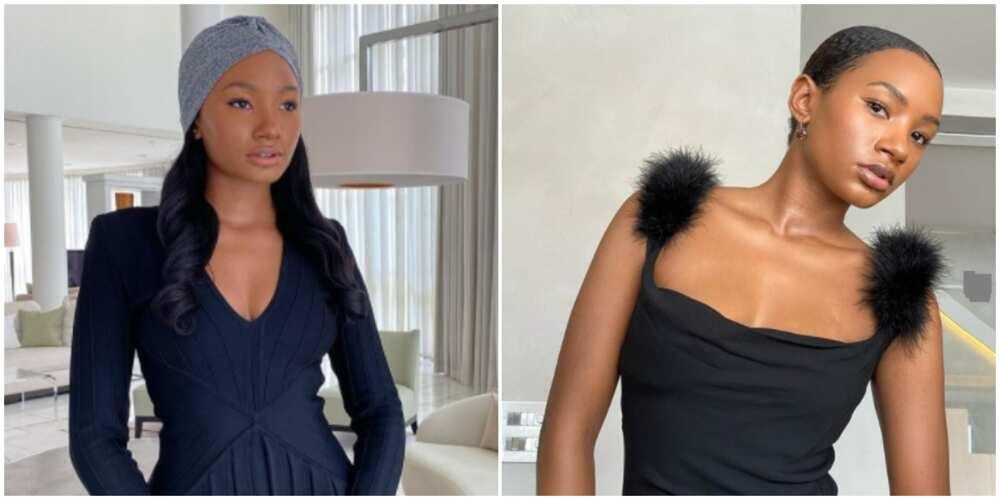 6 photos of billionaire daughter temi Otedola looking stylish in black